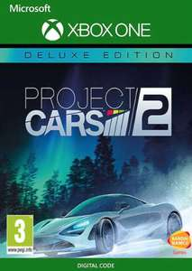 Project Cars 2 - Deluxe Edition xbox one £8.49 @ CD Keys