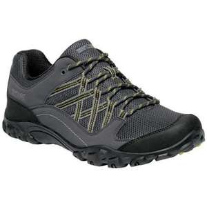Regatta Edgepoint III Waterproof Walking Shoes in Grey £24 Delivered @ Spartoo Sold & Shipped by Regatta Great Outdoors