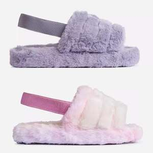 Boo Fluffy Slippers - lots of styles / colours now £8.49 using code (+£2.99 delivery) @ EGO