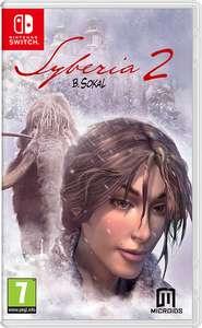 Syberia 2 - Nintendo Switch £1.34 at Nintendo eShop