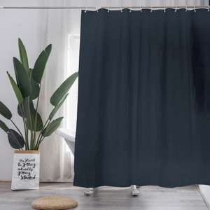 Daniel James Products shower curtain with 12 hooks for £3 delivered @ WeeklyDeals4Less
