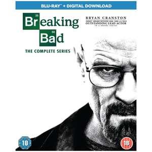 Breaking Bad - The Complete Series (Repackage) Blu-ray+Digital download (£23.39 Zavvi red carpet membership) £27.98 delivered @ Zavvi