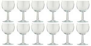 Argos Home 250ml Basic Wine Glasses - Set of 12 £4.50 - Free Click and collect or £3.95 postage @ Argos / ebay