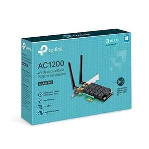 TP-Link Archer T4E AC1200 Dual Band Wireless Adapter - £19.99 Prime / £24.48 Non Prime @ Amazon