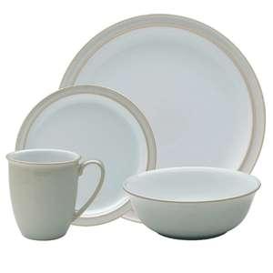 Denby 16 piece Linen ceramic Tableware set £50 at Dunelm - Ipswich