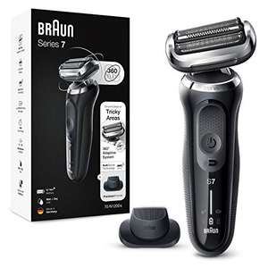 Braun Series 7 Electric Shaver for Men with Precision Beard Trimmer, Wet & Dry, Rechargeable, Cordless Foil Razor, Silver £139.99 @ Amazon
