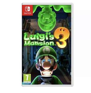 Nintendo Switch Luigi's Mansion 3 £36.99 delivered from Currys Ebay