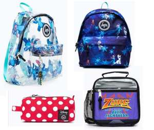 50% off Selected Disney Bags, Pencil Cases and More Plus Free Delivery with Code ( Prices From £4.99) From Just Hype
