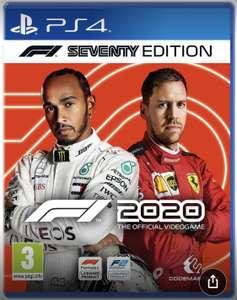 PS4 F1 2020 Seventy Edition £27.49 at Amazon