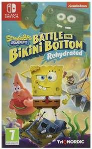 SpongeBob Squarepants: Battle For Bikini Bottom - Rehydrated (Switch) (Nintendo Switch) - £19.99 (+£4.49 Non-Prime) @ Amazon