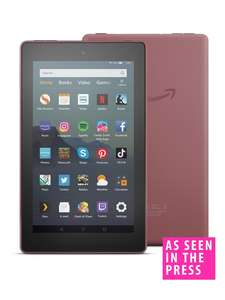 All new Amazon fire 7 tablet ,16gb - £34.99 @ Very - free click and collect / £3.99 delivery