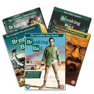 Breaking Bad: The Complete Series on DVD - £10 + Free Delivery @ WeeklyDeals4Less