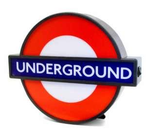 Underground Lightbox Mini - £6.99 (+£3.99 Shipping) @ Ryman