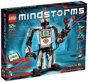 LEGO MINDSTORMS EV3 Toy Robot Building Kit 31313 - £125 @ Argos (Free Click & Collect at few Stores)
