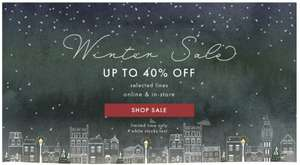 Up to 40% off in Winter Sale @ Lisa Angel Jewellery