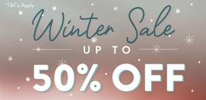 Up to 50% off in Sass & Belle's Winter Sale