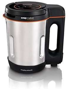 Morphy Richards Compact Soup Maker 501021 Stainless Steel 1 Litre, 900 W - £34.99 @ Amazon