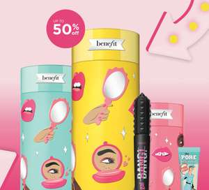 Up To 50% Off Sale - £2.95 delivery free over £25 @ Benefit Cosmetics
