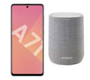 Samsung Galaxy A71 128GB Smartphone Black - French Version + Free Harman Kardon Citation Speaker (Via Claim) - £318.71 @ Amazon