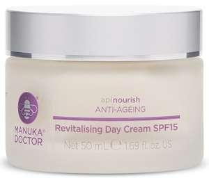 Revitalising Day Cream SPF15 - £4 (+£5 Shipping) @ Manuka Doctor