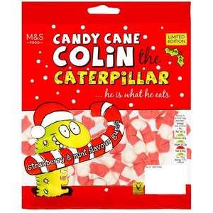 Candy Cane Colin the Caterpillar 150g - half price @ M&S (Lewisham) - 88p