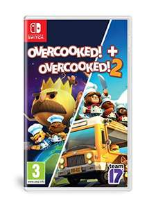 Overcooked & Overcooked 2 (Nintendo Switch) £23.02 delivered at Amazon