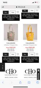 Fjallraven tote bag mini £36 with code +£3.49 delivery @ Country House Outdoors