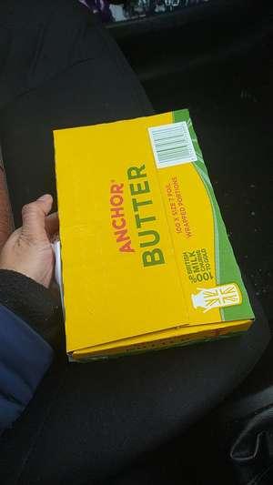 Anchor butter 100X7g (700g) Fulton Foods Huddersfield