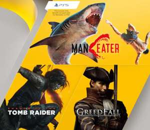 Playstation Plus Games (January 2021) - Maneater (PS5), Shadow of the Tomb Raider, Greedfall