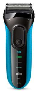 Braun Series 3 ProSkin 3010s Electric Shaver Rechargeable and Cordless Wet and Dry - £34.99 @ Amazon