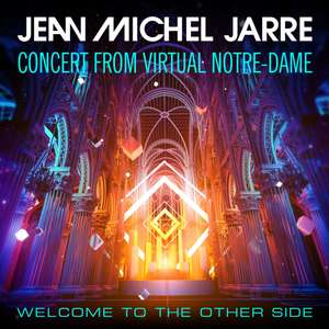 Jean Michel Jarre - New Years Eve Concert from Virtual Notre-Dame, Paris - Live online and free 10.25pm @ Jean Michel Jarre Official