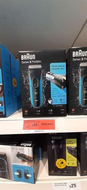 Braun Series 3 ProSkin Shaver £35 instore @ Sainsburys Colchester
