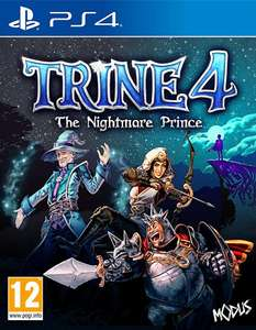 Trine 4: The Nightmare Prince PS4 £6.24 @ PlayStation Store