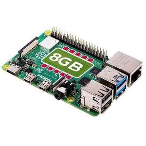 Raspberry Pi 4 Model B 8GB Board £69.72 @ RS Components