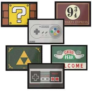 30% Off Themed Door Mats - Nintendo / Zelda / Harry Potter / Friends & More + Free Delivery Using Code - £10.49 Each @ Zavvi