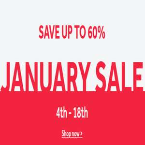 January Sale - Save up to 60% at Nisbets - delivery from £6 to £12 under £50