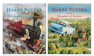 Harry Potter Illustrated Editions: Harry Potter & The Philosopher's Stone/Chamber of Secrets - £16.99 each + £3.95 del at Scholastic
