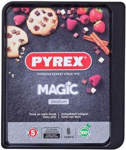 Pyrex Magic Non-Stick Baking Tray 33x25cm £4 (+ Delivery Charge / Minimum Spend Applies) @ Asda