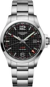 Longines Watch Conquest VHP GMT £784 @ C.W. Sellors - Jura Watches