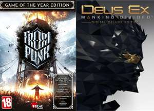[PC] Deus Ex: Mankind Divided - Deluxe Edition at £1.45 / Frostpunk Goty at £7.01 via VPN @ GOG Russia