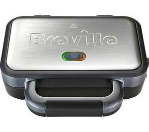 Breville VST041 Deep Fill Sandwich Toaster - Graphite & Stainless Steel - £21.99 delivered @ Currys PC World eBay
