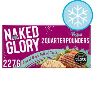 £1 off Naked Glory Quarter Pounders 2 pack, sausages 6 pack or mince @ Tesco