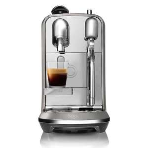 Sage Creatista Plus Coffee Machine, Smoked Hickory £199.50 + £25 subscription at Nespresso