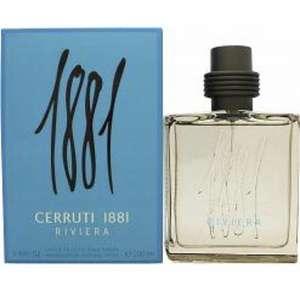 Cerruti 1881 Riviera Eau de Toilette 100ml Spray - £18.55 (+£1.95 shipping) @ Perfume-Click