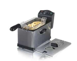 Swan 3 Litre SS Fryer with Viewing Window Now £35.55 with code Delivered From Swan