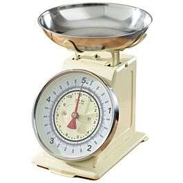 Robert Dyas Mechanical Kitchen Scales in cream for £19.94 delivered @ Robert Dyas