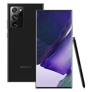 Samsung Galaxy Note20 Ultra 5G Sim Free Android Mobile Phone Mystic Black 256 GB (UK Version) - £999 @ Amazon