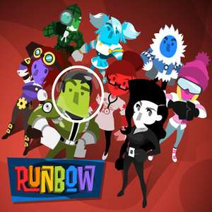 Runbow - Wii U Game - 8 player local multiplayer party game - £2.19 @ Nintendo eShop