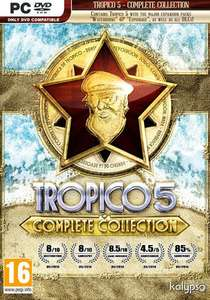 Tropico 5 - Complete Collection (Steam PC - Base Game + All DLCs) £4.39 @ Fanatical
