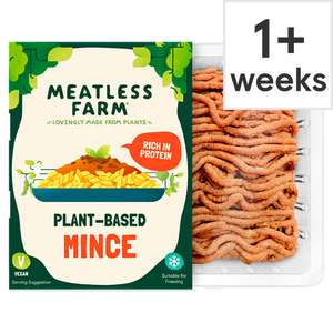Meatless Farm mince 400g £1.85 (+ Delivery Charge / Minimum Spend Applies) @ Tesco